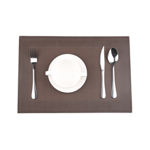 Chinese custom mesh plastic vinyl placemat for dining table