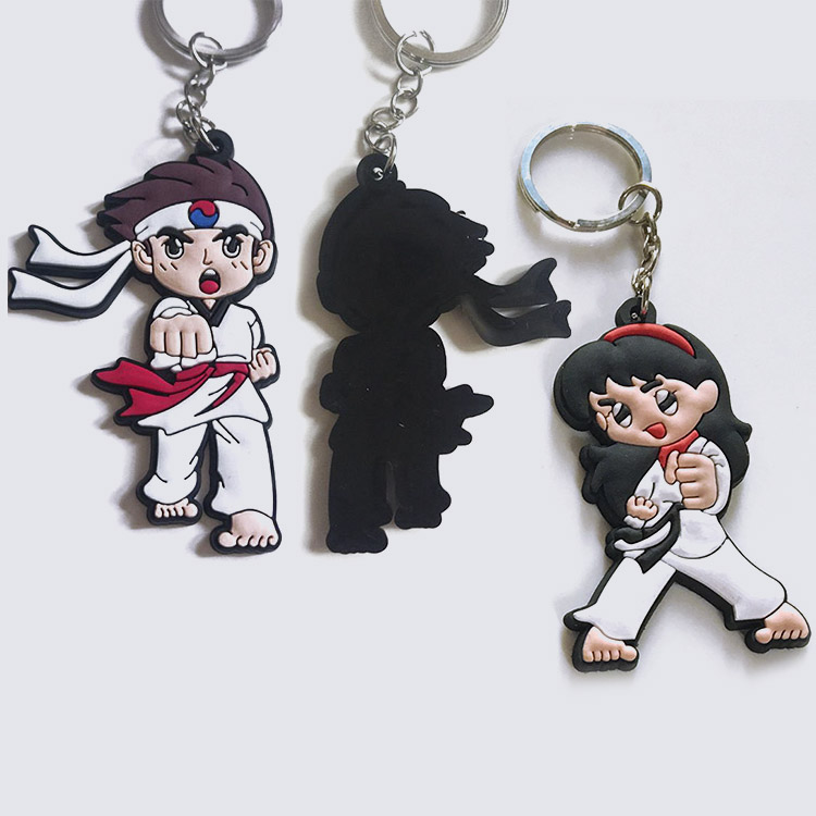 Promotion Soft Rubber Cotton Martial Arts Style Keychains Buy Belt