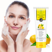 Cross - border Aichun lemon moisturizing facial cleanser บำรุงไวท์เทนนิ่งและ deep cleansing cream