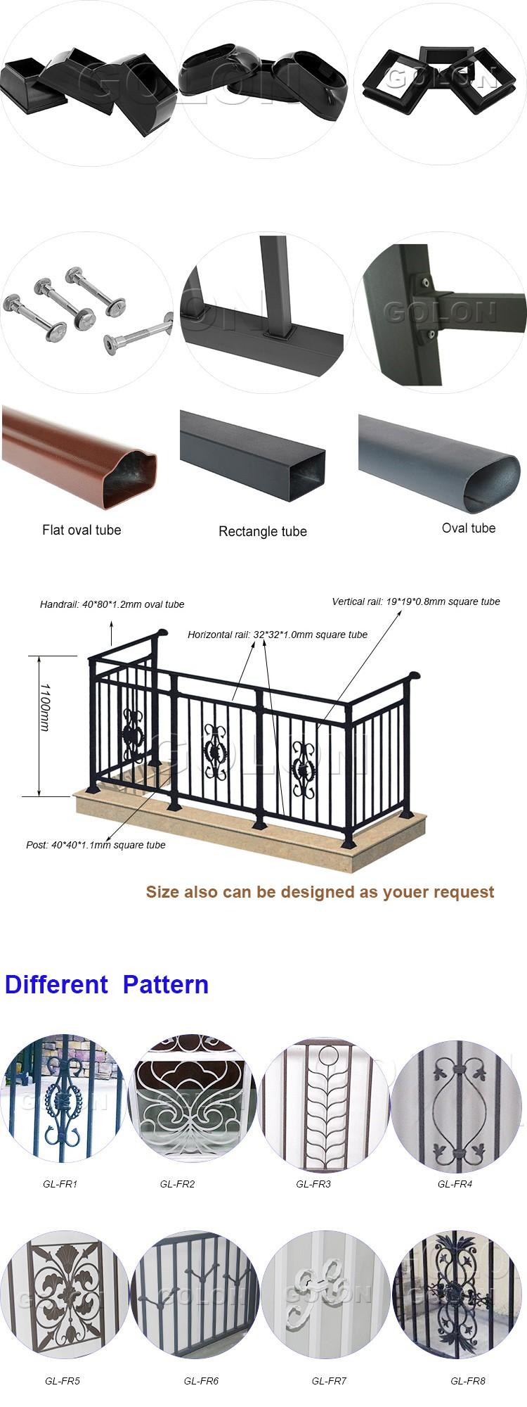 Ust Satis Modern Ferforje Metal Balkon Korkuluk Tasarimlari Balkon