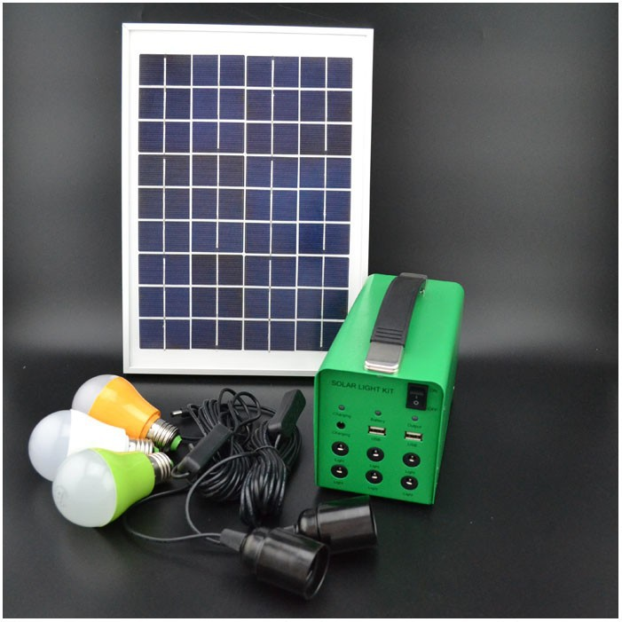 Output 12v solar home system, solar energy system, solar operated system