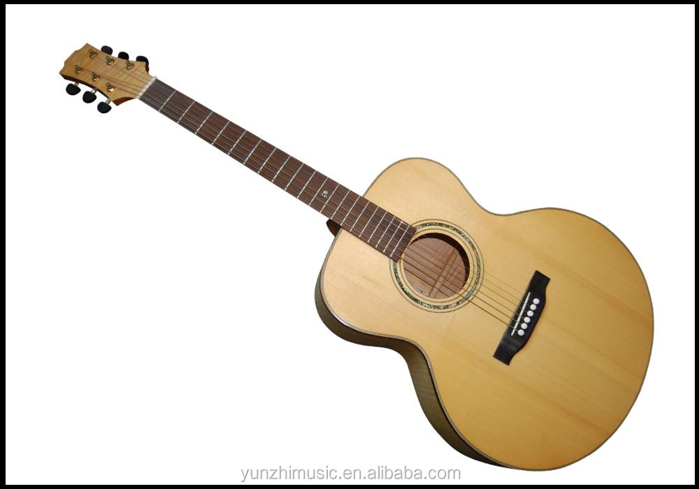 Yunzhi Handmade Solid Wood Acoustic Guitar