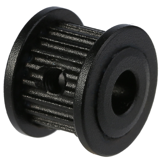 Aluminum and plastic OEM timing belt plastic pulleys