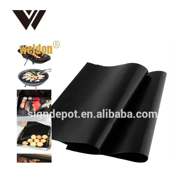 PTFE Non-stick BBQ Grill Mat Barbecue Baking Liners Reusable Teflon Cooking Sheets