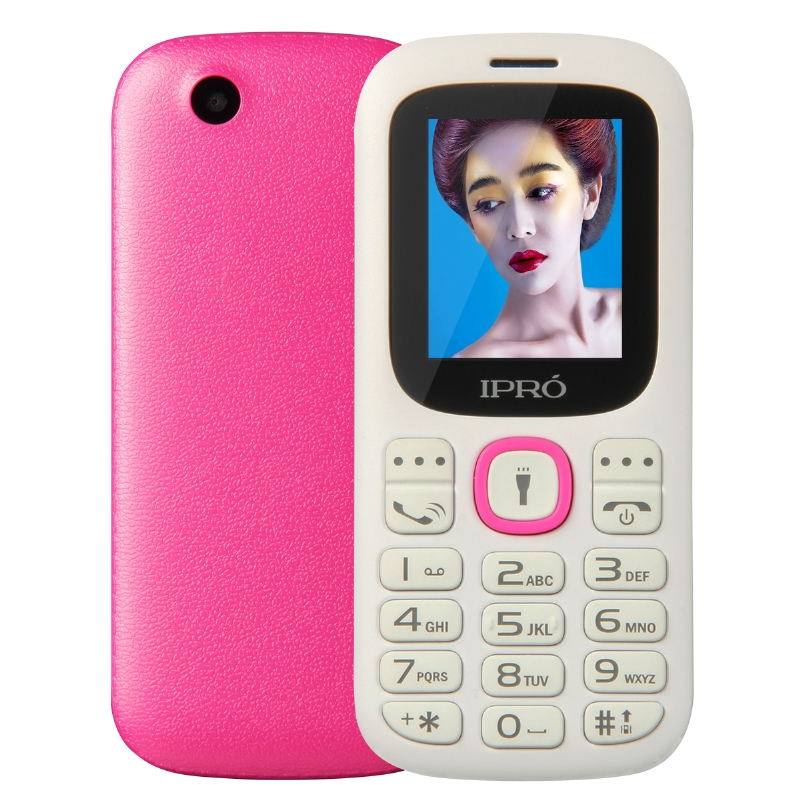 Factory Direct Sales Ipro 1.77 inch basic phones cheap cell unlocked mobile gsm 32MB +