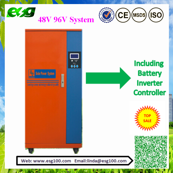 Solar Project Solution with inverter Controller solar panel for home and farming use of 5KW 10KW 20KW Solar Hybrid System