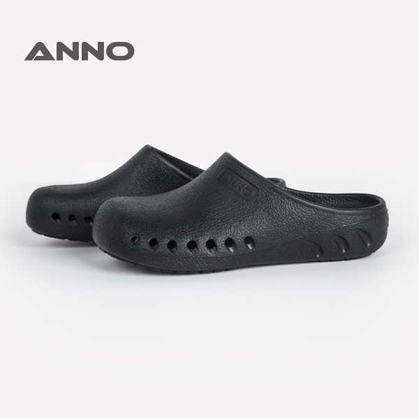 Anno hospital non slip black nurse clogs for nurses