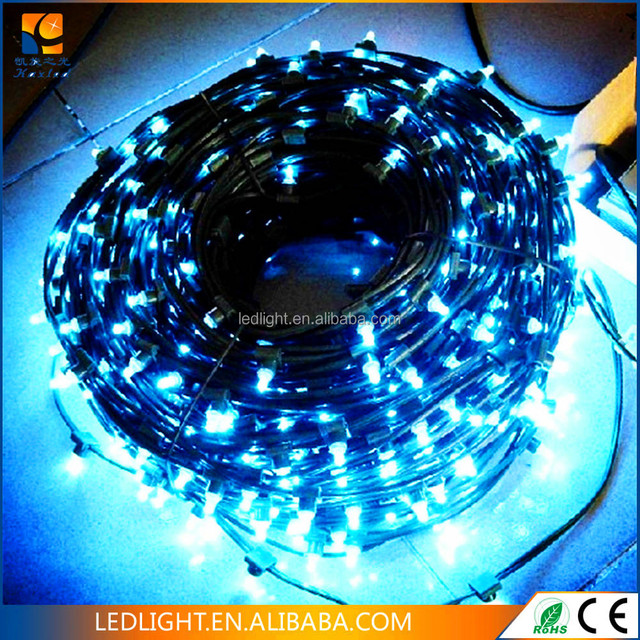 100m 500 666 1000 led bulk factory wholesale outdoor warmwhite bright decorative string lights 12v led