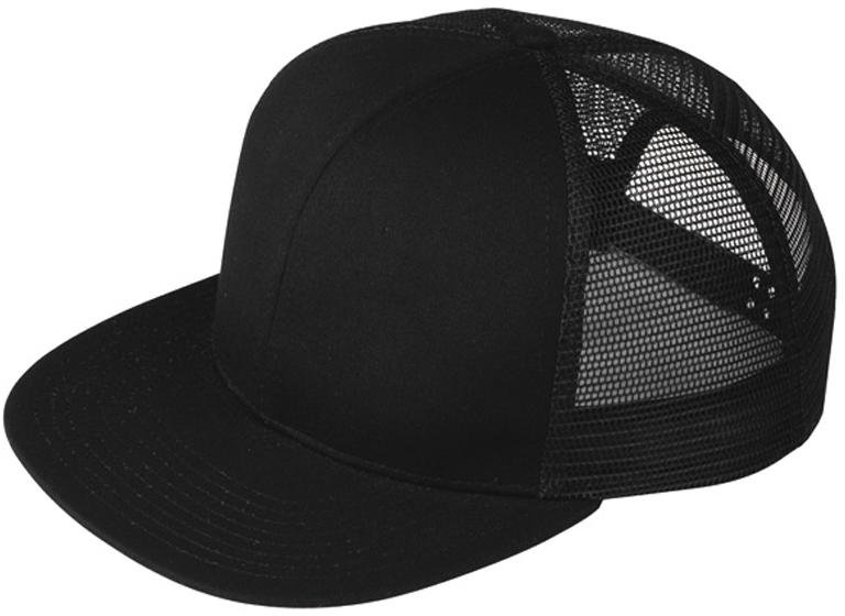 Minimum Black blank flat bill trucker hats cheap flat bill hats flat bill  mesh snapback cap e277a11fb41