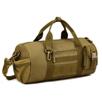 Waterproof Travel Large Size Tactical Molle Barrel Messenger Bag
