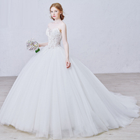 New Ivory/White wedding bridal gown dress Princess Dress custom size