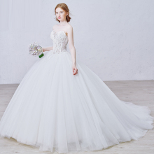 Nuovo <span class=keywords><strong>Avorio</strong></span>/White wedding bridal gown dress <span class=keywords><strong>Principessa</strong></span> Dress formato personalizzato