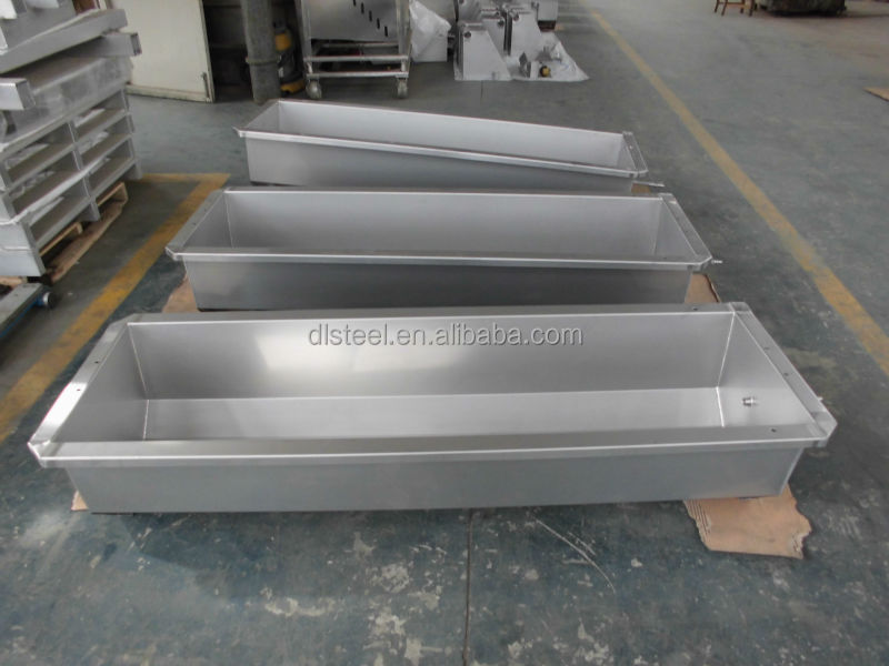 stainless steel feed trough for milk farm