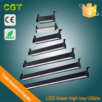 Industrial Led linear lighting fixture Led linear high bay light 50W-600W Meanwell driver
