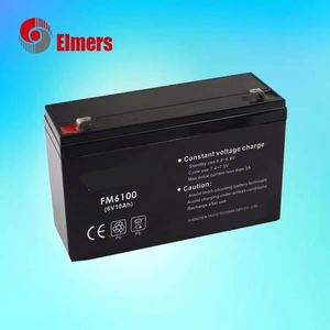 HOt selling products in china 6v10ah MF battery