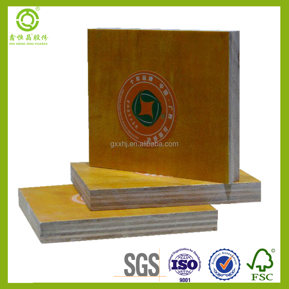 Different Models of 1.2 x 2.4m dimension white color plywood of ISO9001 Standard
