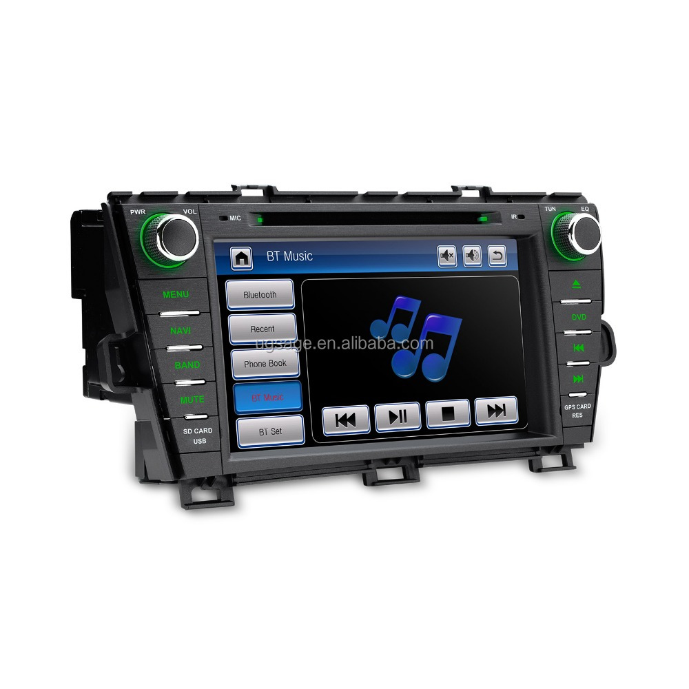 "XTRONS PF81PSTS auto parts 8"" 2 din car audio for toyota prius with GPS3GAMFM, car lcd monitor"