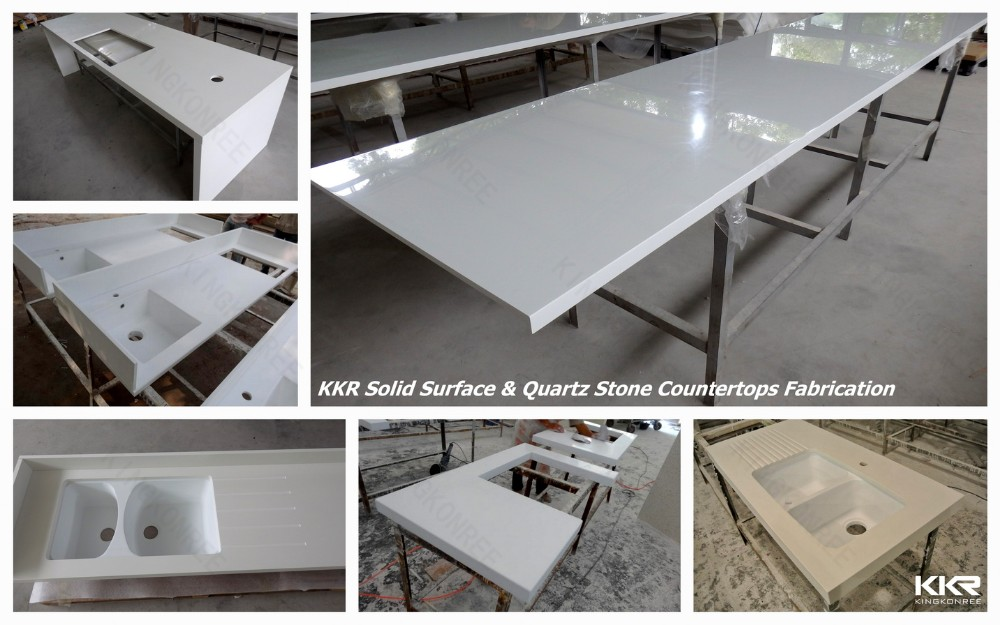 Corian Countertop Material Buy : ... solid surface countertop material, double bathroom sink countertop