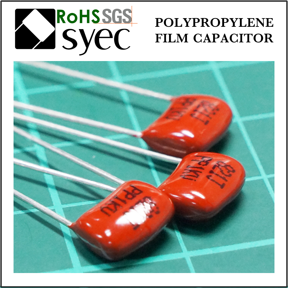 High Frequency Low DF 100000pF 1KV Polypropylene Film Capacitor