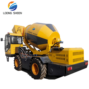 Hot sale 1.5m3 diesel mini truck self loading concrete mixer