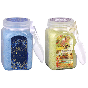Custom Label Bottle Pack Fruit Flavor Bath Salt