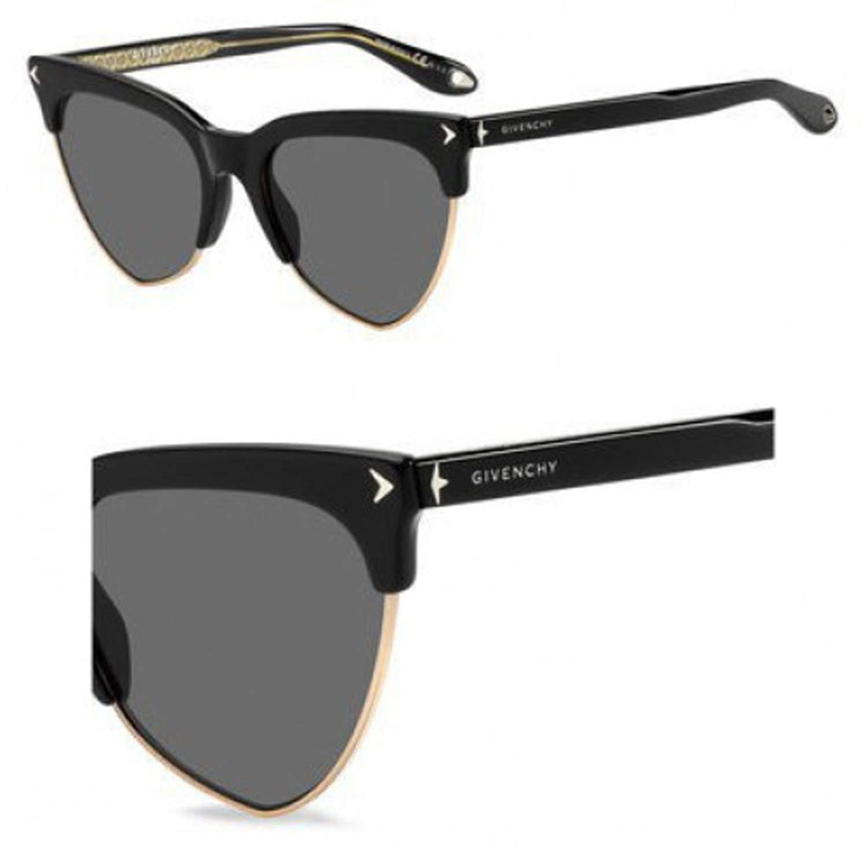 07e82530df1f Get Quotations · Sunglasses Givenchy Gv 7078/S 0807 Black/M9 gray cp pz lens