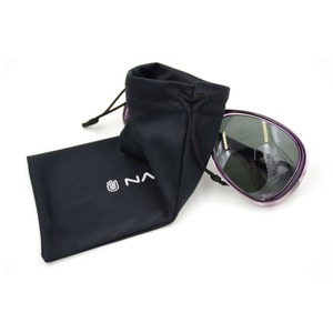 Cheap microfiber soft Black polyester sunglasses pouch