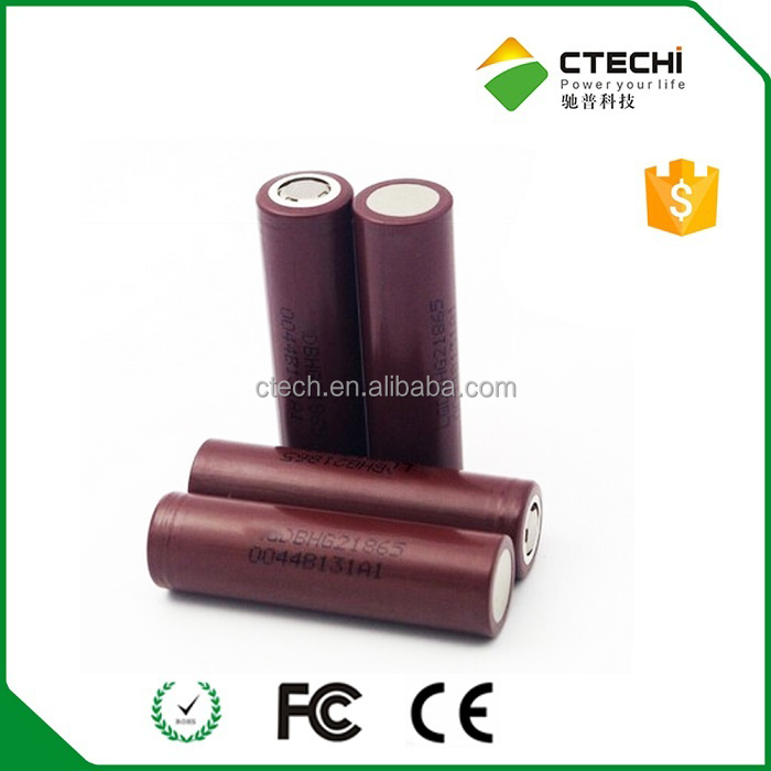 Original 18650 ltihium battery HG2 18650 3000mah 20A battery cell