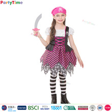 Party Time Merk roze klassieke <span class=keywords><strong>piraat</strong></span> kostuums kids halloween party kostuums