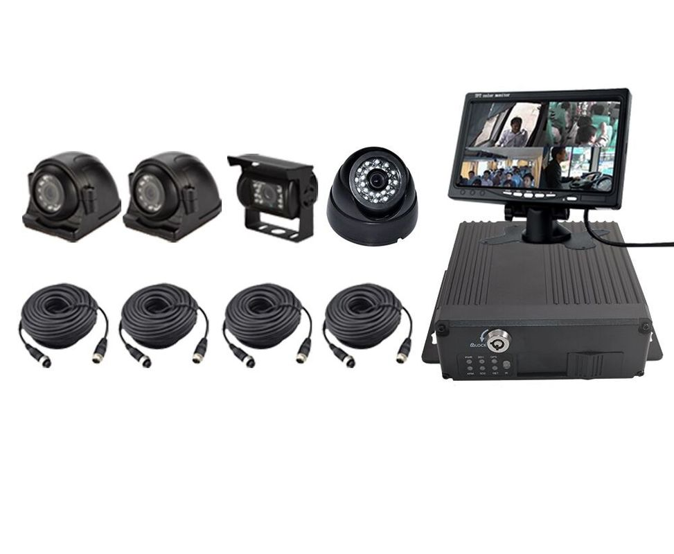 720P 4Ch H.264 Car DVR Camera Kit /& Vehicle Video Recorder DVR+GPS 3//4G WiFi MA