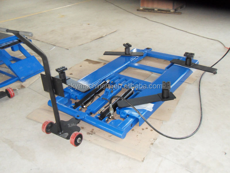 Portable machine easy car lift hydraulic jack system for Ponte sollevatore auto a forbice