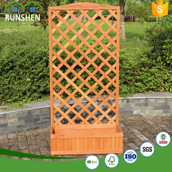 2017 Outdoor Cheap Carden Trellis Wooden Garden Pot With Trellis   Buy  Outdoor Wooden Garden Pot,Outdoor Wooden Garden Pot,Cheap Garden Trellis ...