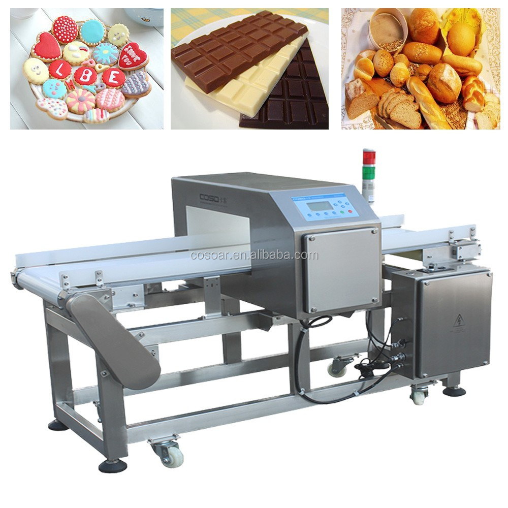 Food grade conveyor metal detectors made in China manufacturer