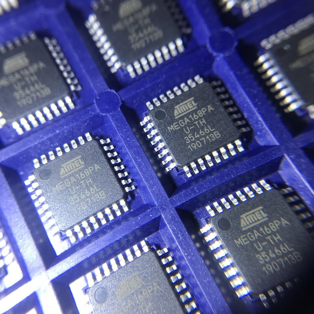 ATMEL MEGA168 ATMEGA168-20PU DIP-28 IC 8BIT MCU 16K FLASH