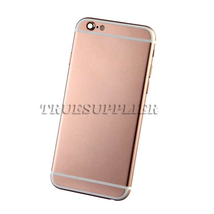 New design wholesale price for iphone 6s rose gold housing custom