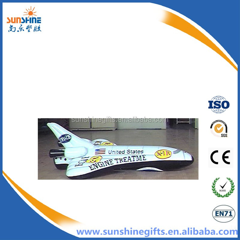 new design inflatable space shuttle