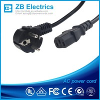 New & High Quality AC Power Adapter EU Plug Extension Cord 1.8M 6ft Cable For MacBook Pro Laptop Charger Typ