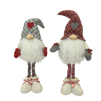 2020 new wholesale European 3D doll felt gnome Christmas Elf On Shelf