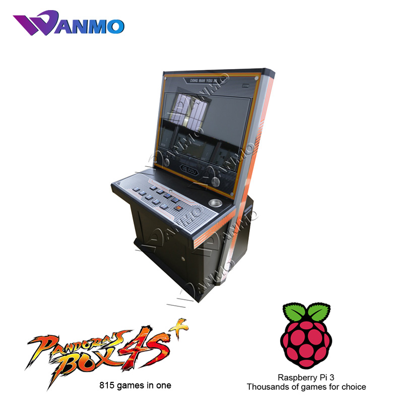 Best selling pandora box 645 in 1 arcade games, super street fighter iv arcade cabinet game machine