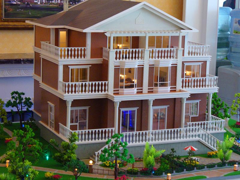 çarpıcı Güzel Ev Modeli Minyatür Mimari Modeli Ev Planı Tasarımı