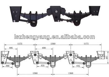 Semi Tractor Trailer Truck Leaf Springs Torque Arm American Trx ...