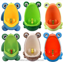 Cute Hook Frog Baby Potty Training WC Child Boy Toilet Seat Portable Plastic Kid Infant Potties Wall Mounted Urinal for Children