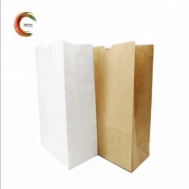 Goedkope fast food brood verpakking papieren zakken voor groothandel