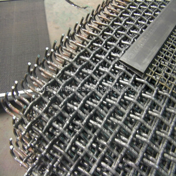 Crushed stone sieve vibrating screen <strong>mesh</strong> used in mineral mine