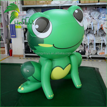 Giant Green Promotion Inflatable Frog , Inflatable Cartoon Animal For Advertising