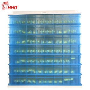 Low cost high quality plastic PVC 1000 egg incubator with multi goose egg tray