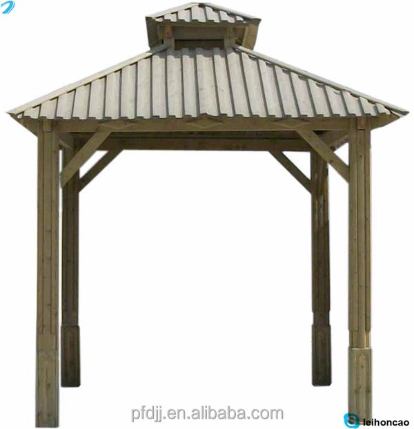 Pas cher carr en bois massif de toit gazebo vendre belv d re id de produit - Gazebo a vendre pas cher ...