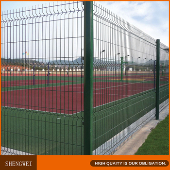 Square Post 50x50 Mesh Panel Welded Wire Fence