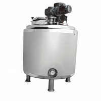 stainless steel big size stock pot/2300L stainless steel heated mixing tank