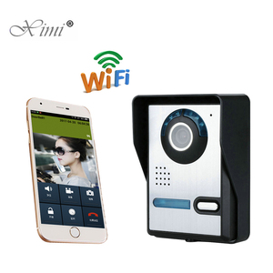 High Pixel IR Camera Remote Control Access Control System WIFI Video Intercom Video Door Phone System